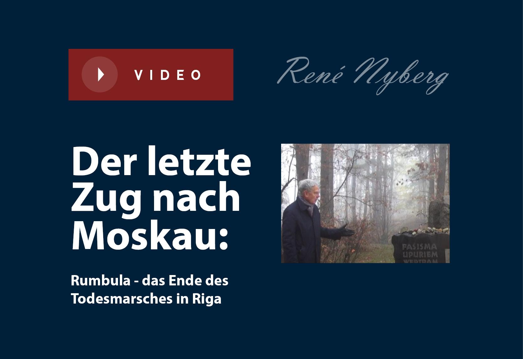 Der letzte Zug nach Moskau: Rumbula – das Ende des Todesmarsches in Riga