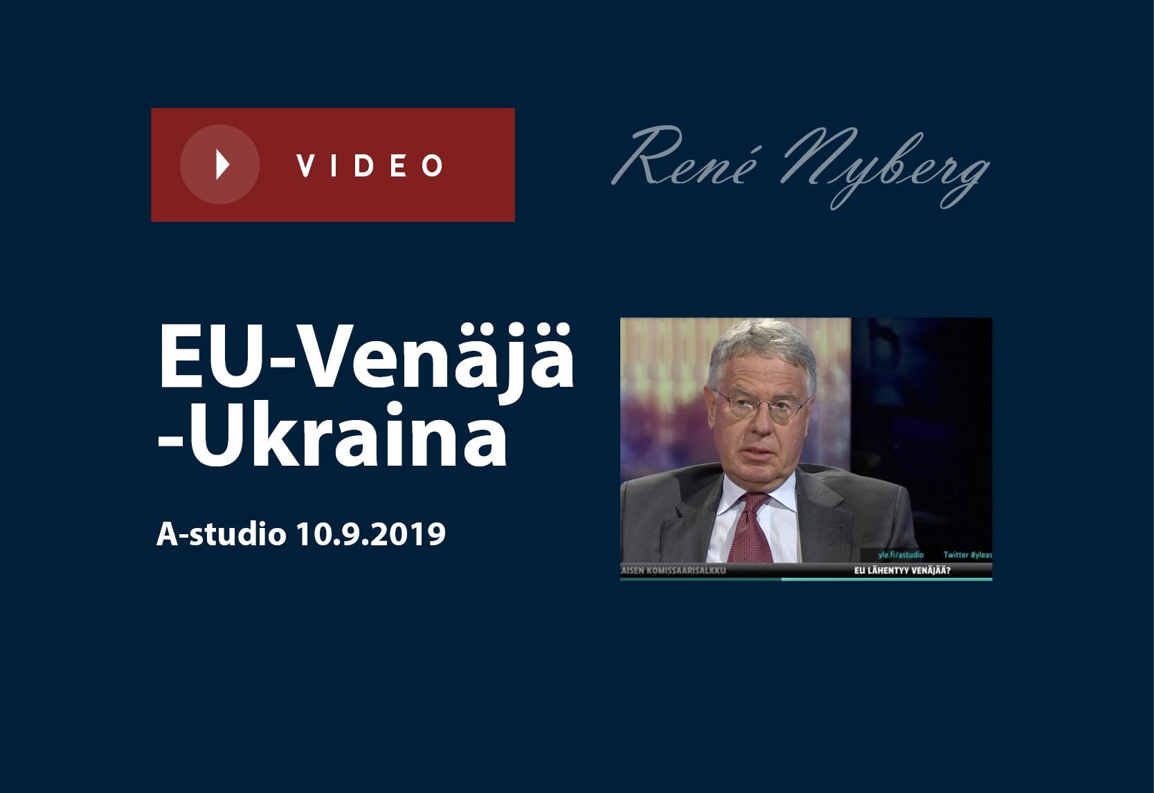 EU-Venäjä-Ukraina
