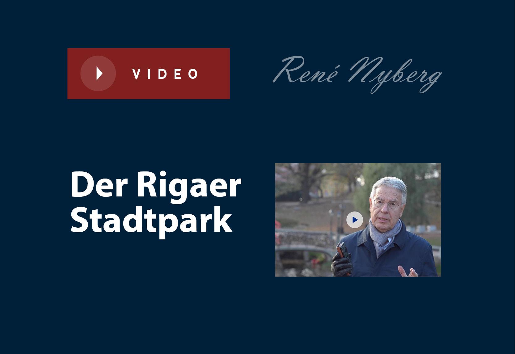 Der Rigaer Stadtpark